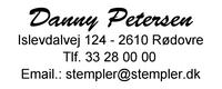Stempel Eos 40 1-5 linier  59x23