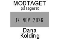 Tekstplade til Trodat 5440 datostempel
